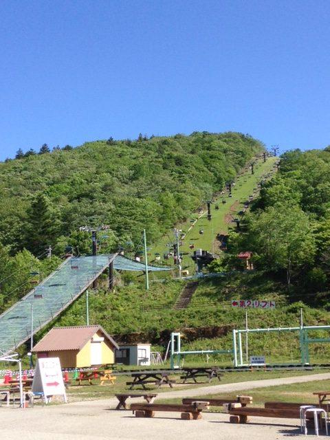 茶臼山 リフト