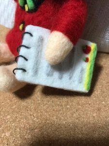 羊毛フェルト メモ