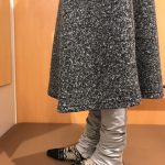 ロングスカート グレー2